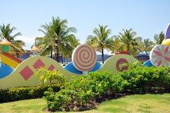 публика парка mundo maravilhoso da aracaju crian стоковые фотографии rf