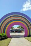 публика парка mundo maravilhoso da aracaju crian стоковая фотография rf