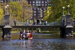 публика сада boston Стоковые Фотографии RF