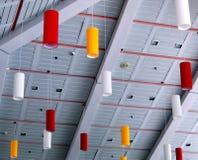 публика средства конструкции потолка Стоковые Фотографии RF