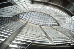 публика стекла потолка здания Стоковое Изображение RF