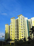 публика singapore снабжения жилищем стоковое фото rf