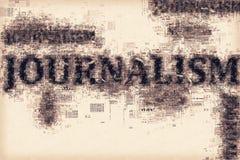 Публицистика, схематическая иллюстрация Стоковое Фото