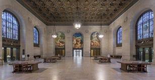 Публичная библиотека Детройта Стоковые Изображения