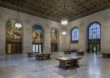 Публичная библиотека Детройта Стоковые Изображения RF