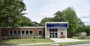 Публичная библиотека Мемфиса и информационный центр широкоформатные, Мемфис, TN стоковое фото