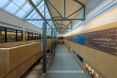 Публичная библиотека Allen County Fort Wayne стоковое фото rf