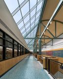 Публичная библиотека Allen County Fort Wayne стоковые изображения rf