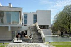 Публичная библиотека Florbela Espanca Matosinhos Португалия стоковое фото rf
