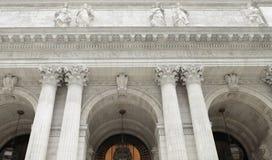 Публичная библиотека New York Стоковые Изображения