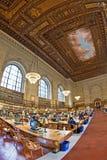 Публичная библиотека New York (NYPL) Стоковые Изображения RF