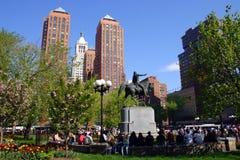 публика США сада boston общяя Стоковые Изображения