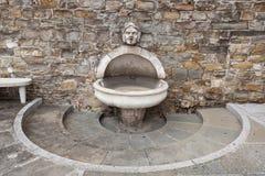 публика фонтана Стоковые Изображения
