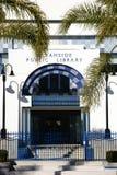Публичная библиотека берега океана Стоковые Изображения RF
