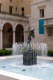 Публичная библиотека Бостона одна из самых больших муниципальных систем публичной библиотеки в Соединенных Штатах Стоковые Фотографии RF