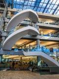 Публичная библиотека Солт-Лейк-Сити стоковое изображение rf