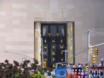 Публичная библиотека централи Бруклина стоковые изображения