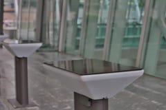 публичное место на ifc с дорожкой Стоковые Фотографии RF