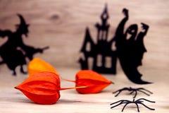 Пугающая предпосылка halloween Стоковые Изображения RF