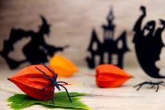 Пугающая предпосылка halloween Стоковое фото RF