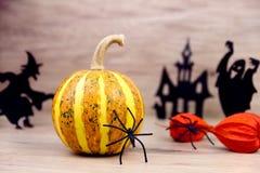 Пугающая предпосылка halloween Стоковые Фото