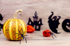Пугающая предпосылка halloween Стоковое Изображение RF