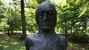 Пугающая скульптура Стоковое фото RF