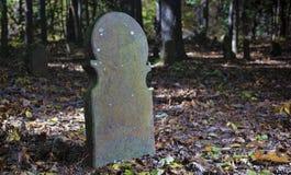 Пугающее кладбище Северной Каролины Стоковое Изображение RF
