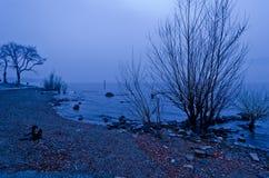 Пугающее озеро - Италия Стоковое фото RF