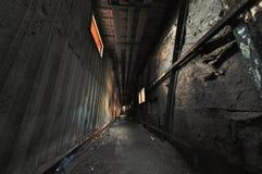 Пугающий коридор Стоковые Фото