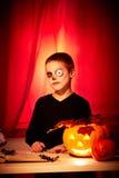 Пугающий парень Стоковая Фотография