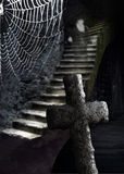 Пугающий погреб с призраком Стоковая Фотография RF