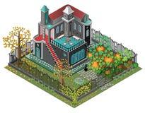 Пугающий сад Стоковое Изображение RF