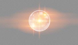 Пузыри воды мыла Стоковая Фотография RF