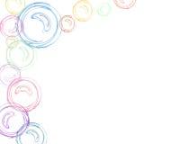 пузыри граници Стоковое Изображение RF