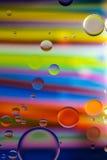 Пузыри круга радуги Стоковое Изображение RF