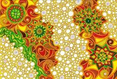 Пузыри мандалы Стоковое Фото