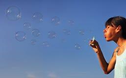 Пузыри мыла Стоковая Фотография