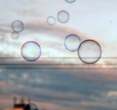 Пузыри от балкона Стоковое фото RF