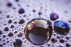 пузыри предпосылки Стоковое фото RF