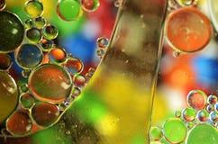 Пузыри цвета Стоковое фото RF