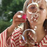 пузыри Стоковое фото RF