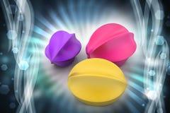 пузыри 3d Стоковое Изображение RF
