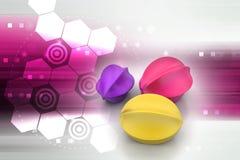 пузыри 3d Стоковые Изображения RF