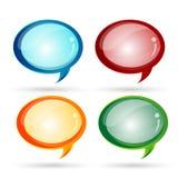 пузыри dialogue стекловидное бесплатная иллюстрация