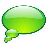 Пузырь беседы вектора Стоковая Фотография RF
