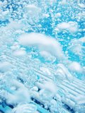 Пузырь воды Стоковое фото RF