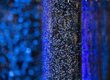 Пузырь воды как предпосылка конспекта нерезкости Стоковое Фото