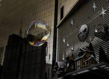 Пузырь в городе Стоковое Изображение RF