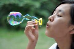 пузырь красотки Стоковое фото RF
